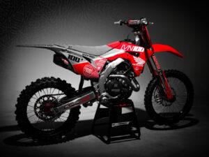 Josh Hansen Honda Graphics CRF 450 R 2020 Grey Red