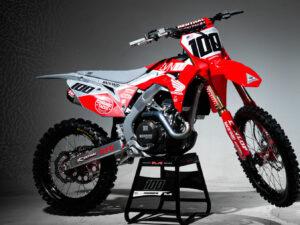 Josh Hansen Honda Graphics CRF 450 R 2020 Grey Backyard