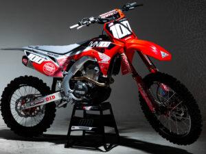Josh Hansen Honda Graphics CRF250R 2020 Grey